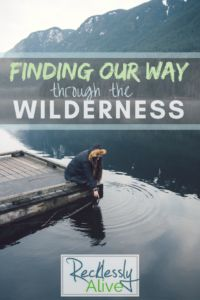Finding Our Way Through the WILDERNESS – Recklessly Alive