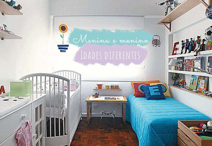 No mesmo quarto: menino + menina ou bebê + criança | Comprando Meu Apê | Comprando Meu Apê