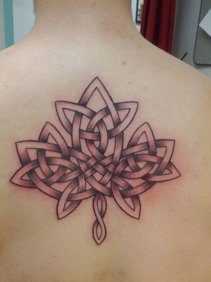 Celtic Maple Leaf Tattoo