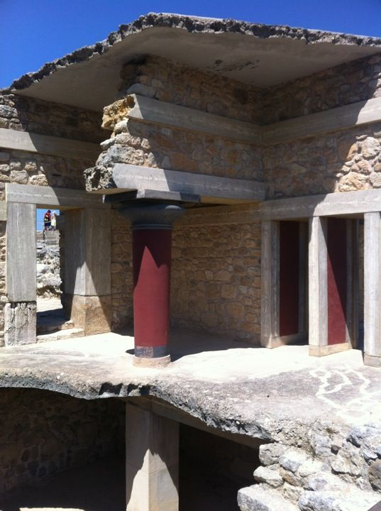Knossos Column Minoan Crete