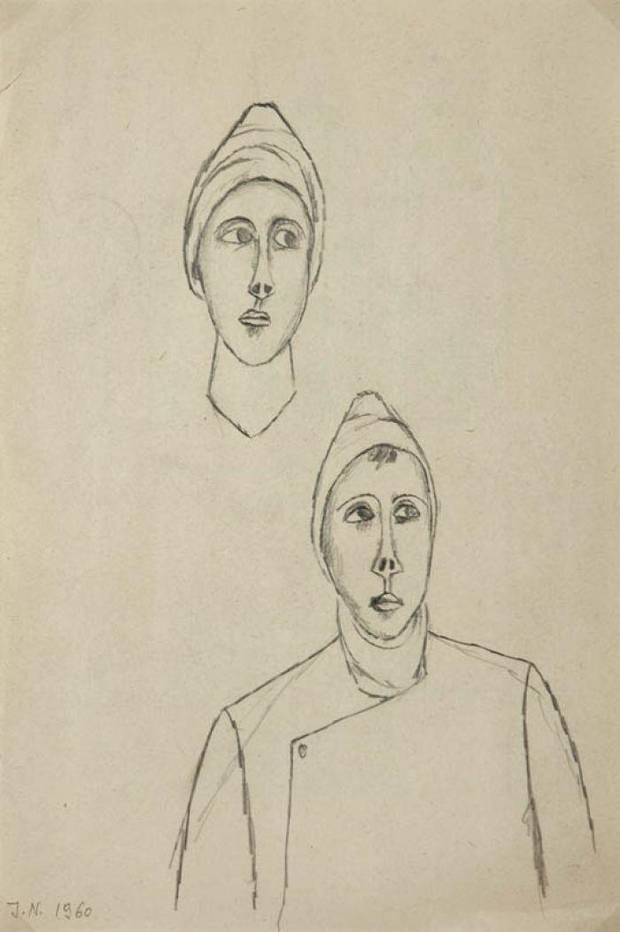 Jerzy Nowosielski - Bez tytułu, 1960 r.