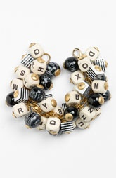 Lenora Dame 'Letter & Ball' Bracelet: Letters Ball, Fashion Bracelets, Jewelry, Bangles, Diy