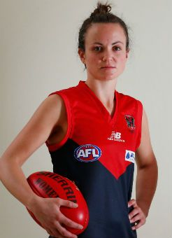 Daisy Pearce will captain the Melbourne Women's team this week before the Melbourne vs. Western Bulldogs at 5.10pm