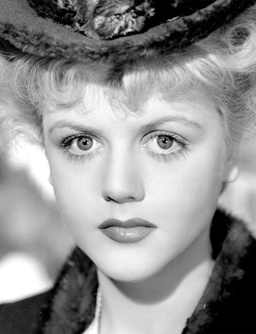 Angela Lansbury, 1945, as she appeared in The Picture of Dorian Gray