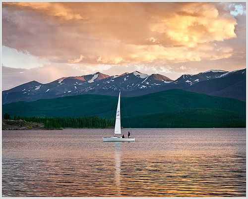 Lake Dillon, Colorado -- There's only so much weight one dream can handle, I think.
