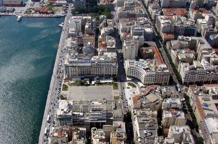 Thessaloniki Aristotelous square