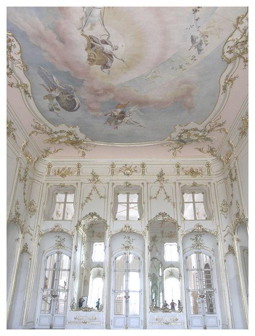 Esterháza Palace, Fertőd, Hungary, built by Prince Nikolaus Esterházy. Sometimes called the 'Hungarian Versailles,' it is Hungary's grandest Rococo edifice