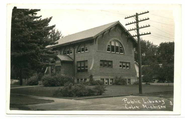 Colon, Michigan, Public Library