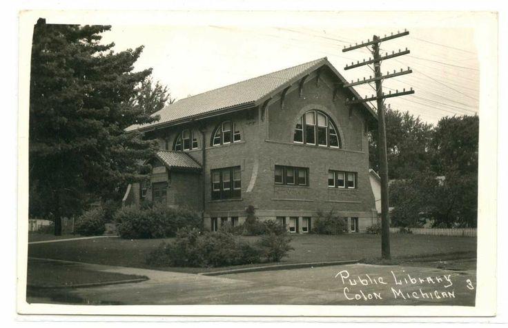 Colon, Michigan, Public Library