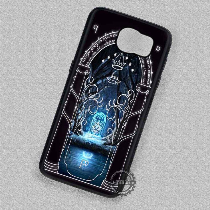 Gate of Moria Magic Moria's Door - Samsung Galaxy S7 S6 S5 Note 7 Cases & Covers