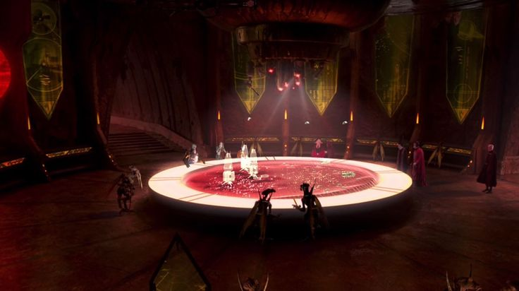 geonosis war room. I've always liked this small scene for some reason.