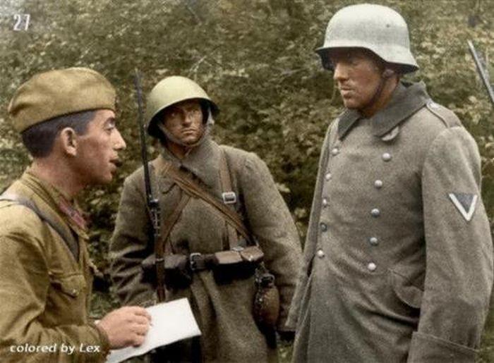Velikaya Otechestvennaya Vojna V Cvete 70 Foto Soldaty Vojna