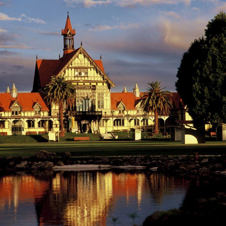 Rotorua Museum, in the historic Rotorua Bath House