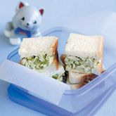Chicken, Celery and Avocado Sandwich