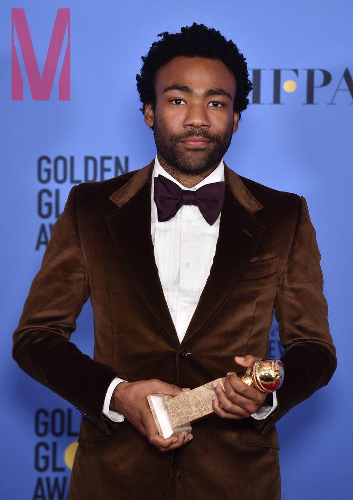 Golden Globe Award Winner Donald Glover featured in MANSION Men's Magazine