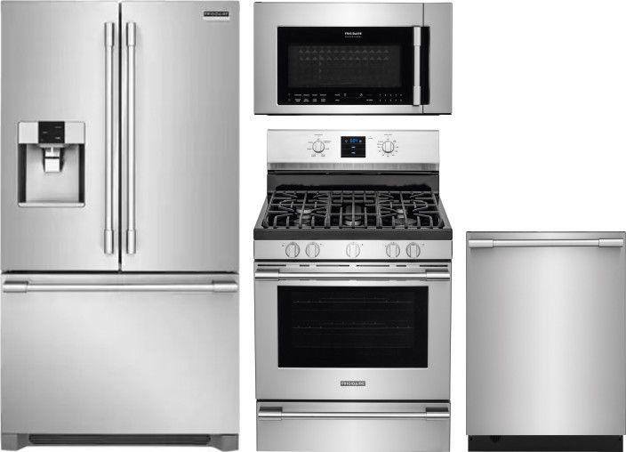 Frigidaire Professional Series Frreradwmw10551 Kitchen Appliance Packages Kitchen Appliances French Door Refrigerator