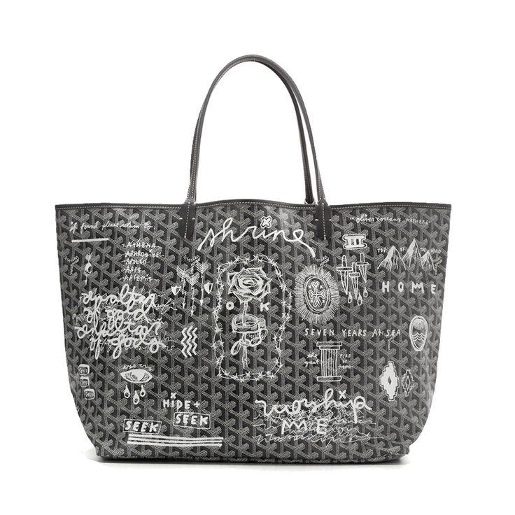 Oliver Coreaux Shrine Goyard St. Louis Tote - Shop Luxury Handbags   Editorialist