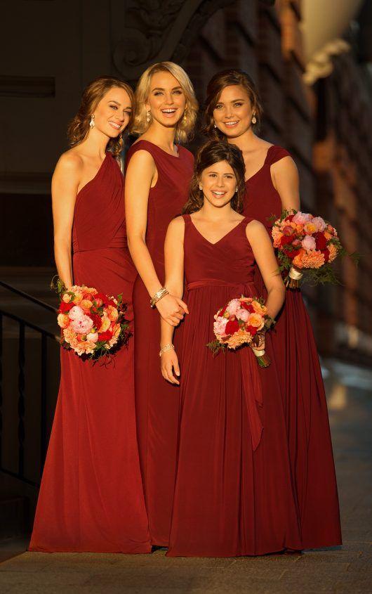 J4014 Floor-Length Junior Bridesmaid Dress by Sorella Vita