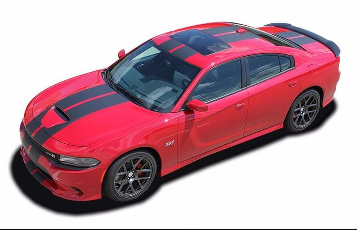 2015-2017 Dodge Charger N-Charge Rally S-Pack R/T Scat Pack SRT 392 Hellcat Factory Quality Mopar Style Vinyl Racing Stripes 3M Graphic Kit