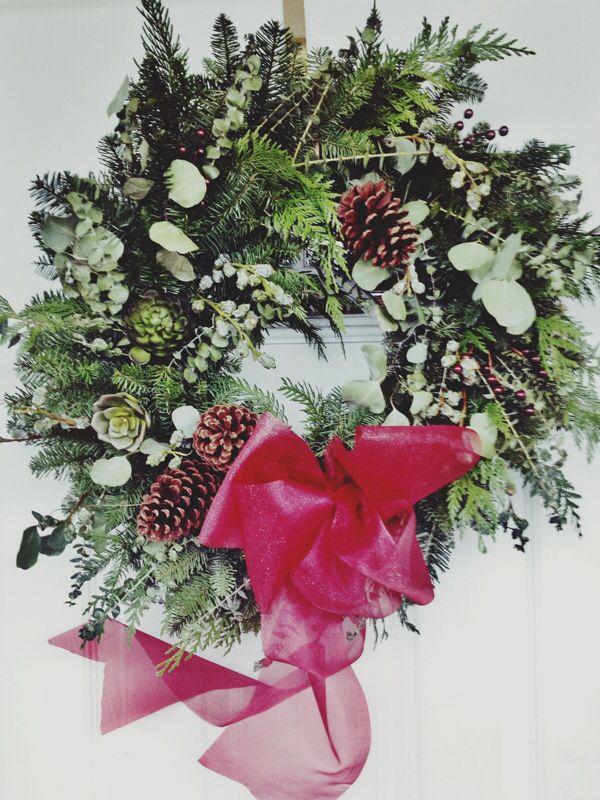 Gorg' Christmas wreath by The Green Petal in Fernie BC
