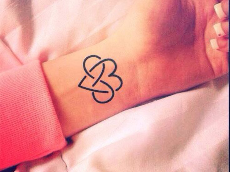татуировки для мужчин с знаком бесконечности