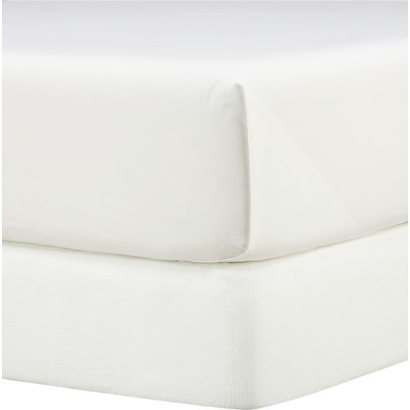 Matelasse King Box Spring Cover  | Crate and Barrel
