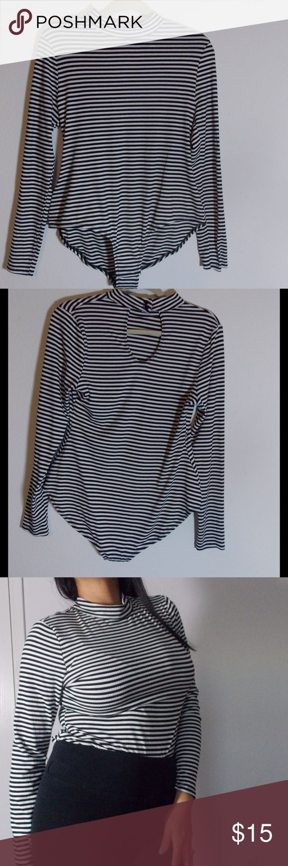 Stripes Body Suit Worn once 17 Sundays Other
