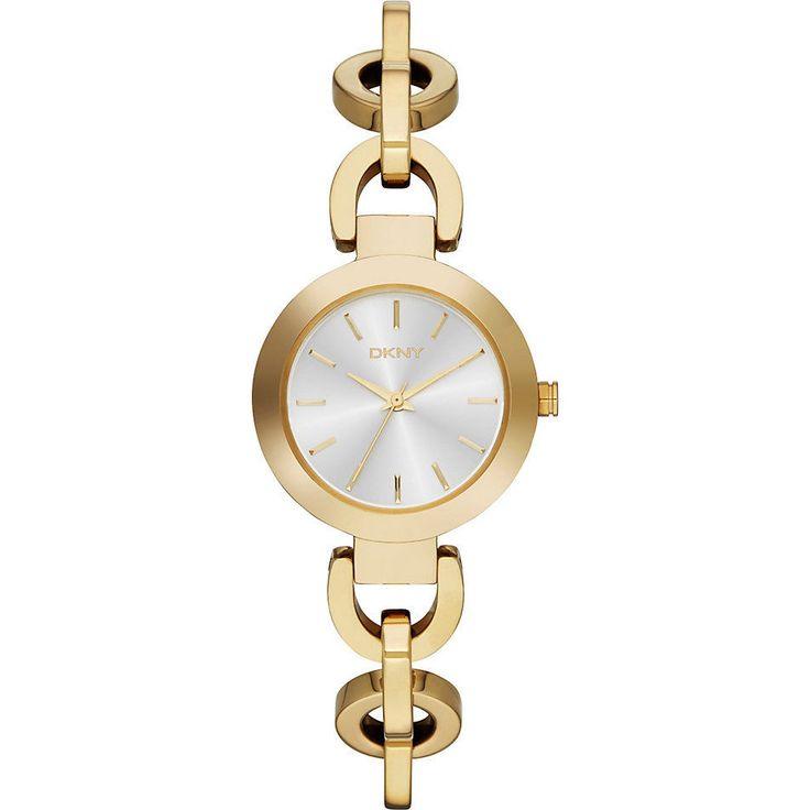 DKNY Donna Karan New York Damenuhr Uhr NY2134 Gelbgold Gold Womens Ladies Watch