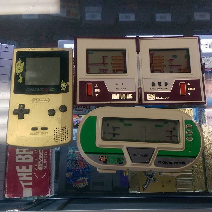 On instagram by theplanetbuster #gameandwatch #microhobbit (o) http://ift.tt/2g54kyj few #Nintendo handhelds came in the door  #gameboycolor #pokemon #mariobros #donkeykong