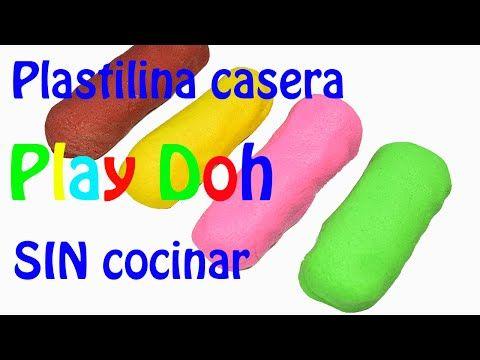Como hacer Plastilina Casera tipo Play Doh SIN cocinar. - YouTube