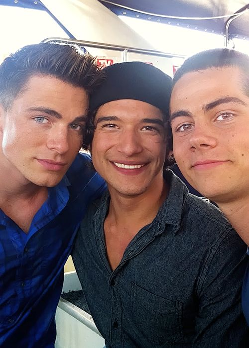 boys of Teen Wolf! Is it sad that I squealed like a little girl when I saw this picture?