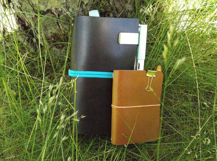 En sommardag med mina travelers notebooks!