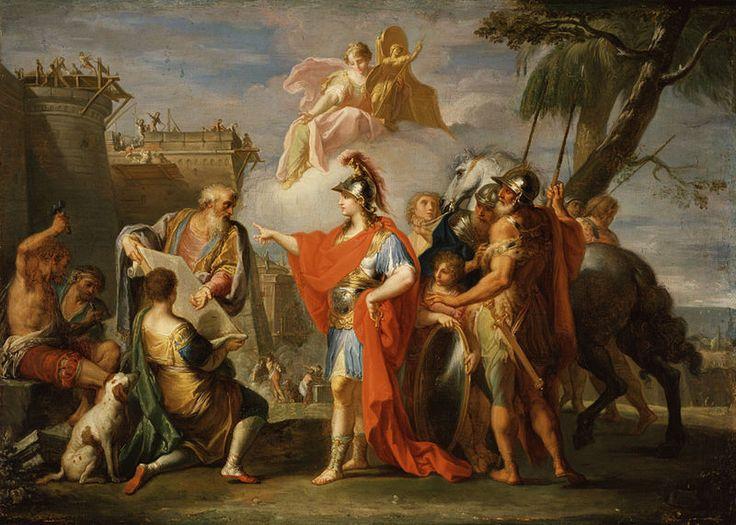 File:Alexander the Great Founding Alexandria.jpg
