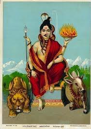 """Representacion iconográfica de Ardhanarisvara """"el señor mitad mujer"""" - """"dualidad"""""""