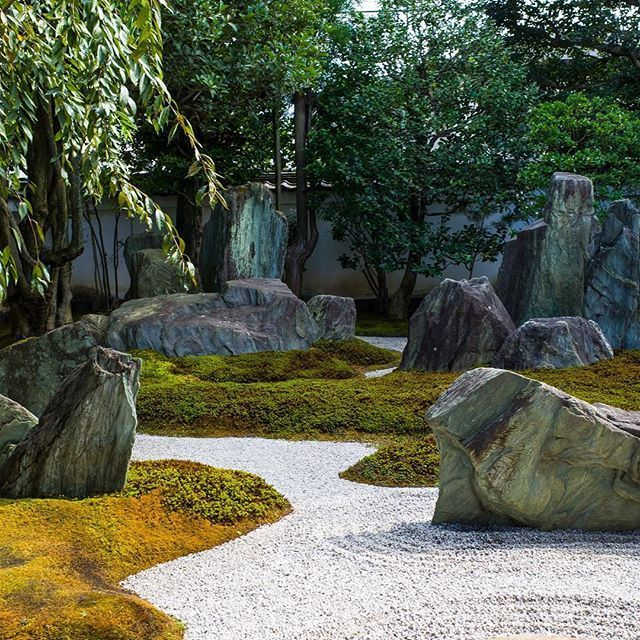 250 best stone placement for a Japanese garden images on
