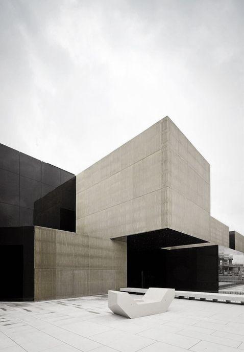 les 99 meilleures images du tableau modulaire sur pinterest modulaire architecture et espace. Black Bedroom Furniture Sets. Home Design Ideas