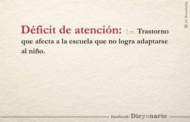 Déficit de atención: trastorno que afecta a la escuela que no llega a adaptarse al niño. www.alaya.es