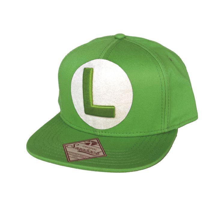 Keps Luigi #keps #kepsar #cap #luigi #nintendo #l #smb
