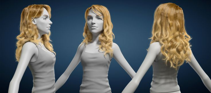 Styling And Rendering Long Hair With Blender And Cycles