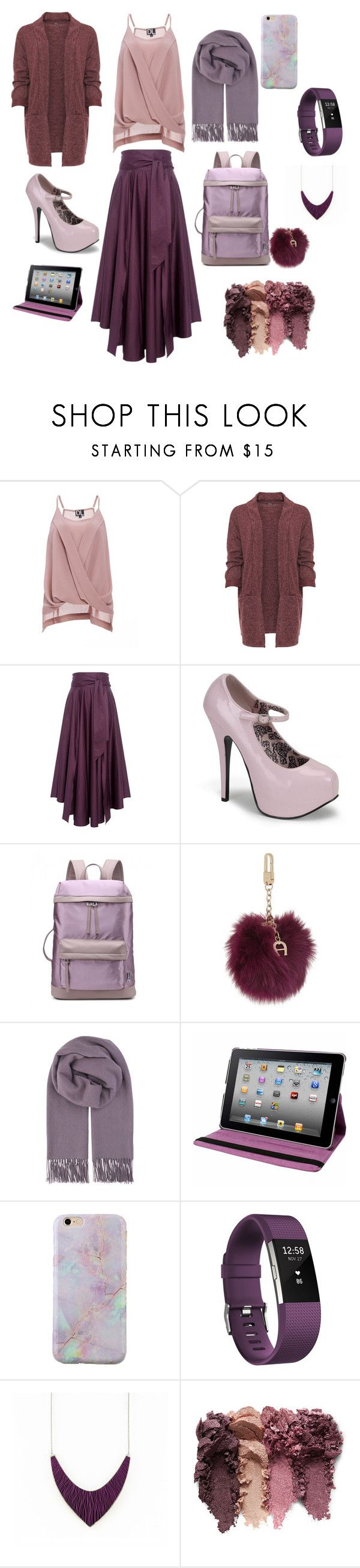 """Untitled #22"" by fitri-navilah ❤ liked on Polyvore featuring beauty, WearAll, TIBI, Etienne Aigner, BeckSöndergaard, Natico, Fitbit and plus size clothing"