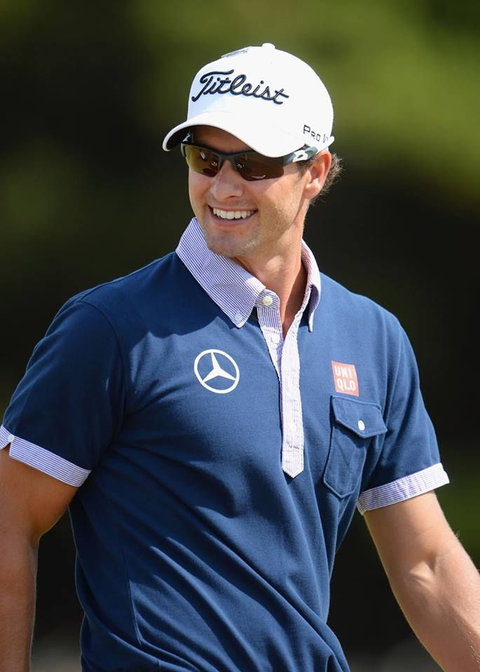 Adam Scott - so glad I got to see my favorite golfer and The 2013 Open Championship at Muirfield, Scotland