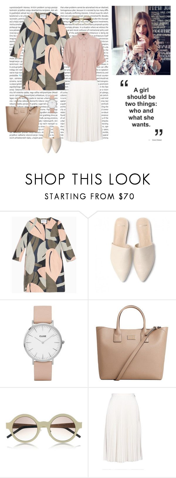 """""""Pastel love 08/04"""" by dorey on Polyvore featuring Max&Co., CLUSE, MANGO, Illesteva, MSGM and Topshop"""