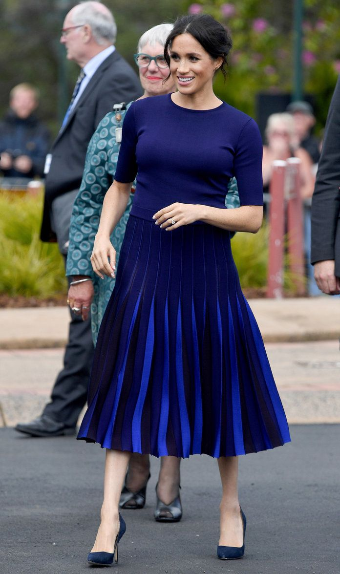 939eed94ba82c Meghan Markle Wore a  Fully  See-Through Skirt on the Last Day of Her Royal  Tour