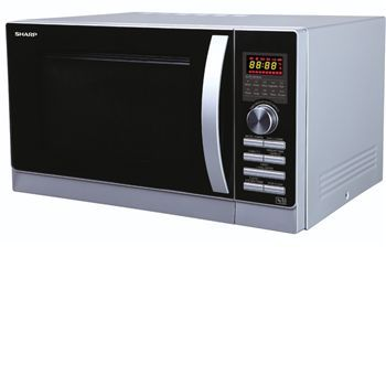 Sharp R842SLM - 25litre combination microwave in Combi-Microwave oven (4-in-1) with convection and top  bottom grills. Including 10 auto menus options, weight and time defrost function, child safety lock, auto minute and kitchen timer function.900  http://www.MightGet.com/january-2017-11/sharp-r842slm--25litre-combination-microwave-in.asp