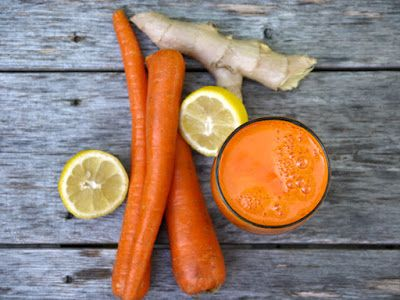 Daily Health Tips: Benefits of Fresh Ginger Carrot Juice