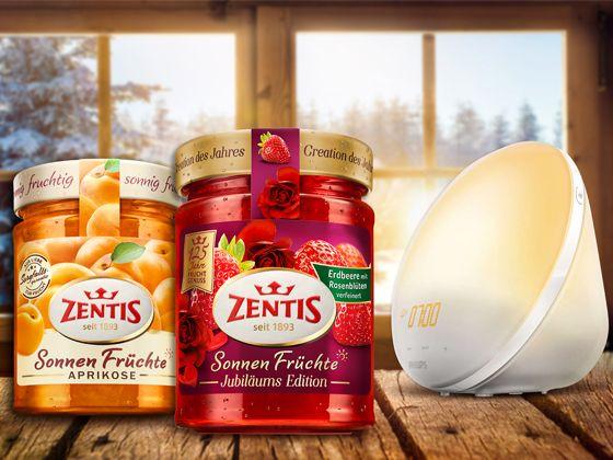 Genießerpakete von Zentis gewinnen