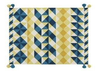 Tappeto fatto a mano in lana a motivi geometrici MOSAÏEK - GAN By Gandia Blasco