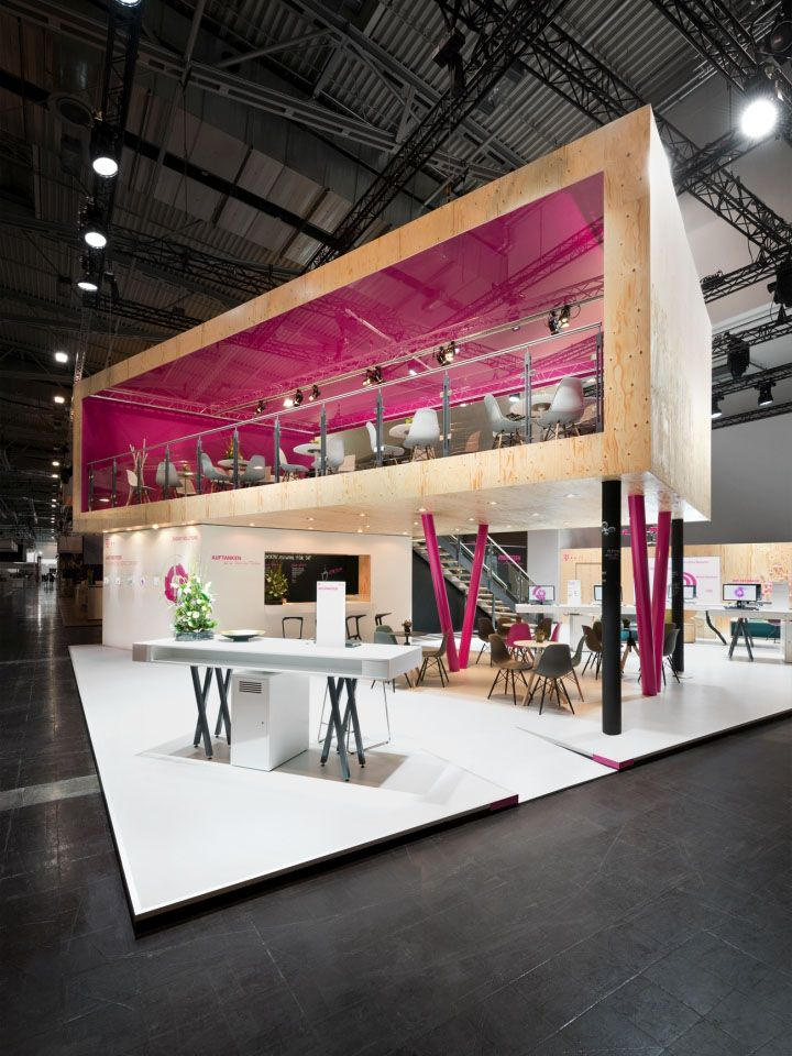 Deutsche Telekom stand by hartmannvonsiebenthal at E-World 2015, Essen – Germany » Retail Design Blog