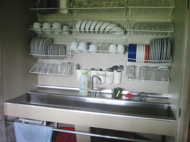 Sink Drain Down Dish Racks I Would Put This Station In My Pantry Or