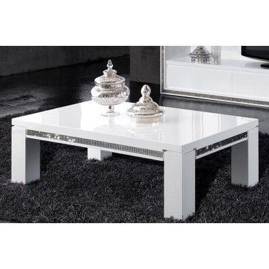 17 best images about table basse on pinterest baroque - Table basse blanc laque avec rangement ...